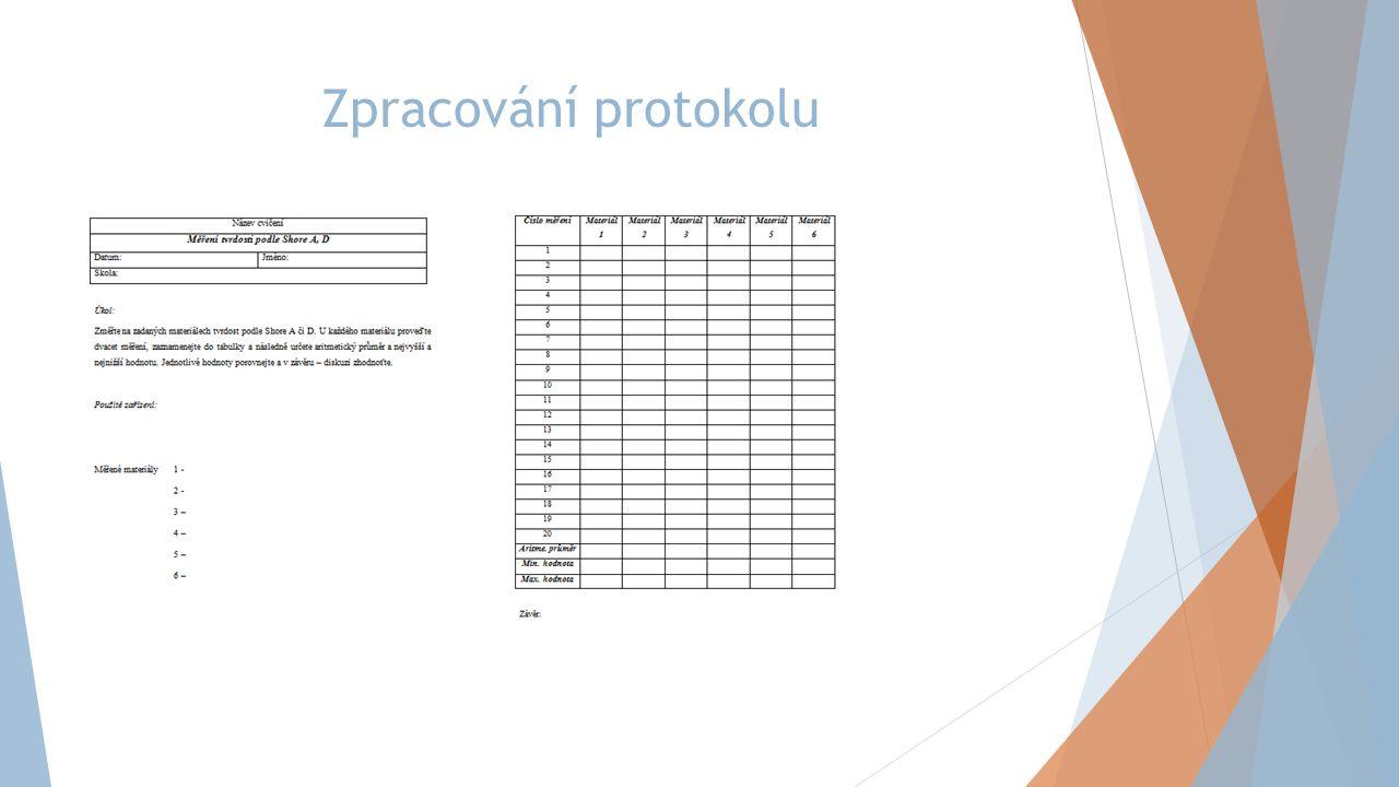 Zpracování protokolu