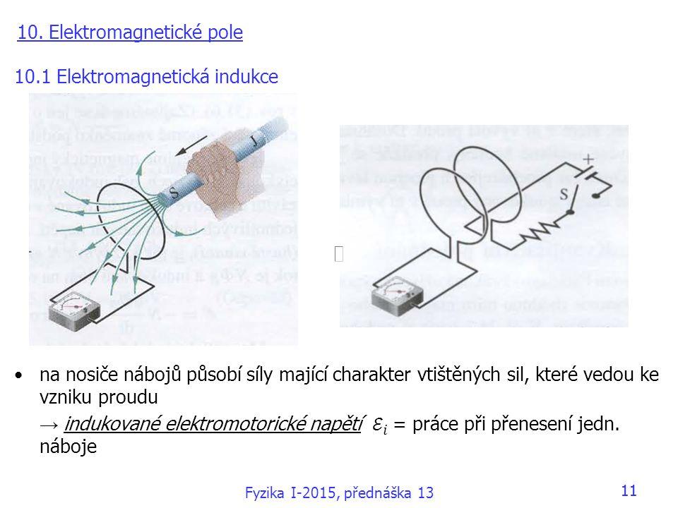 10. Elektromagnetické pole