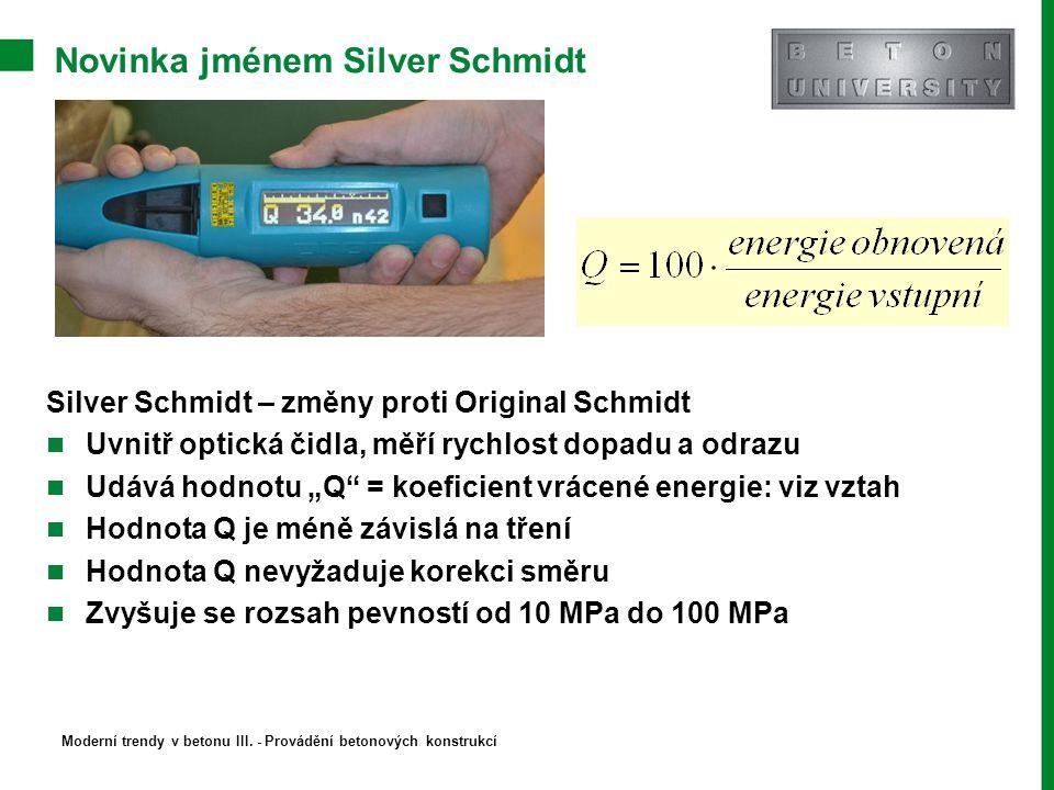 Novinka jménem Silver Schmidt