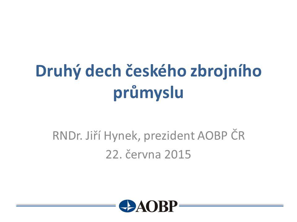 Druhý dech českého zbrojního průmyslu