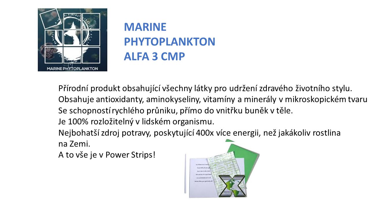 MARINE PHYTOPLANKTON ALFA 3 CMP