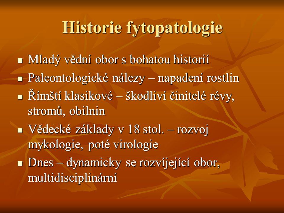 Historie fytopatologie