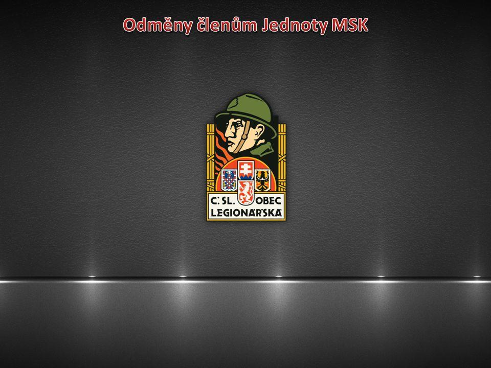 Odměny členům Jednoty MSK