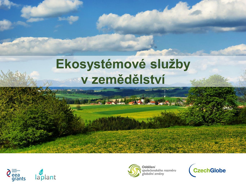 Ekosystémové služby v zemědělství