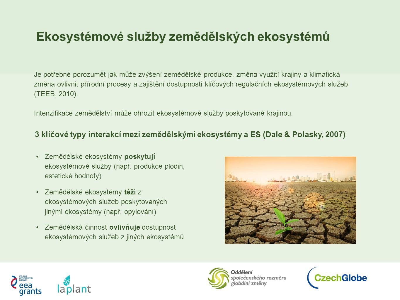 Ekosystémové služby zemědělských ekosystémů