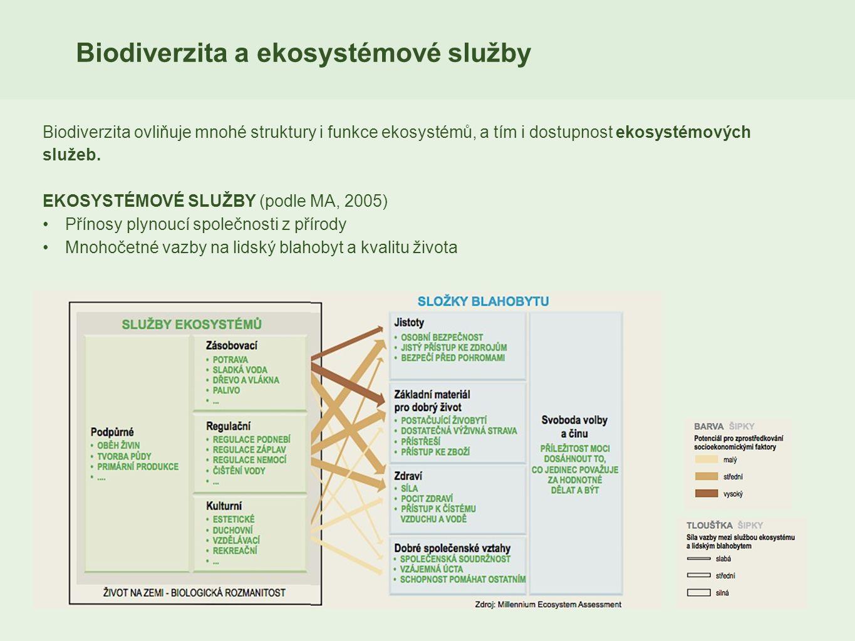 Biodiverzita a ekosystémové služby