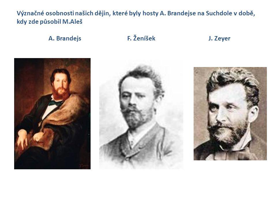 Význačné osobnosti našich dějin, které byly hosty A