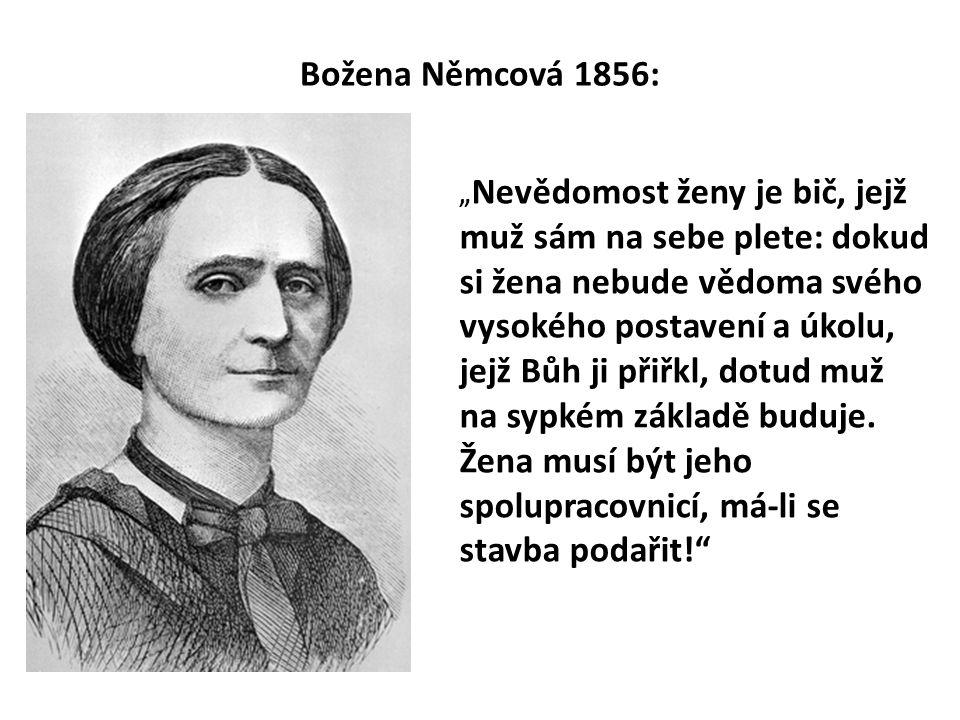 Božena Němcová 1856: