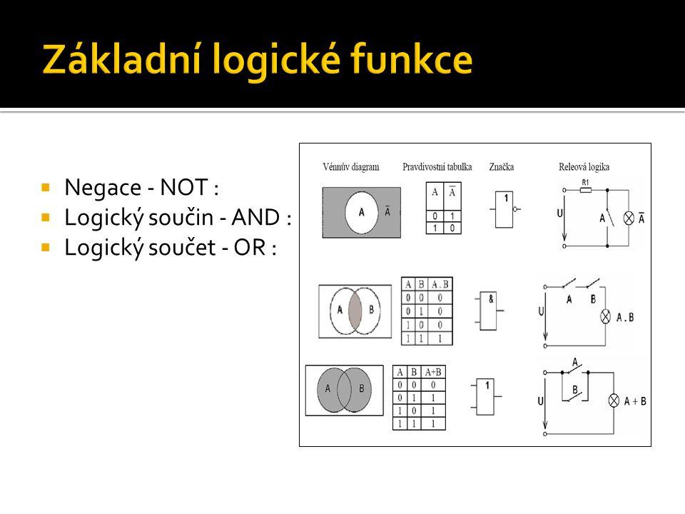 Základní logické funkce