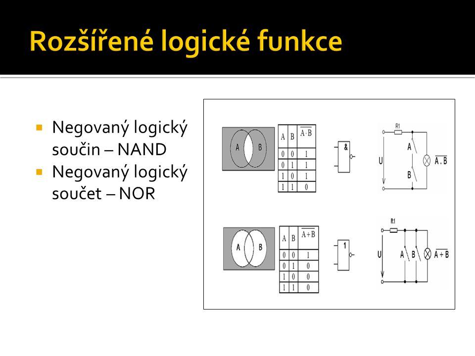 Rozšířené logické funkce