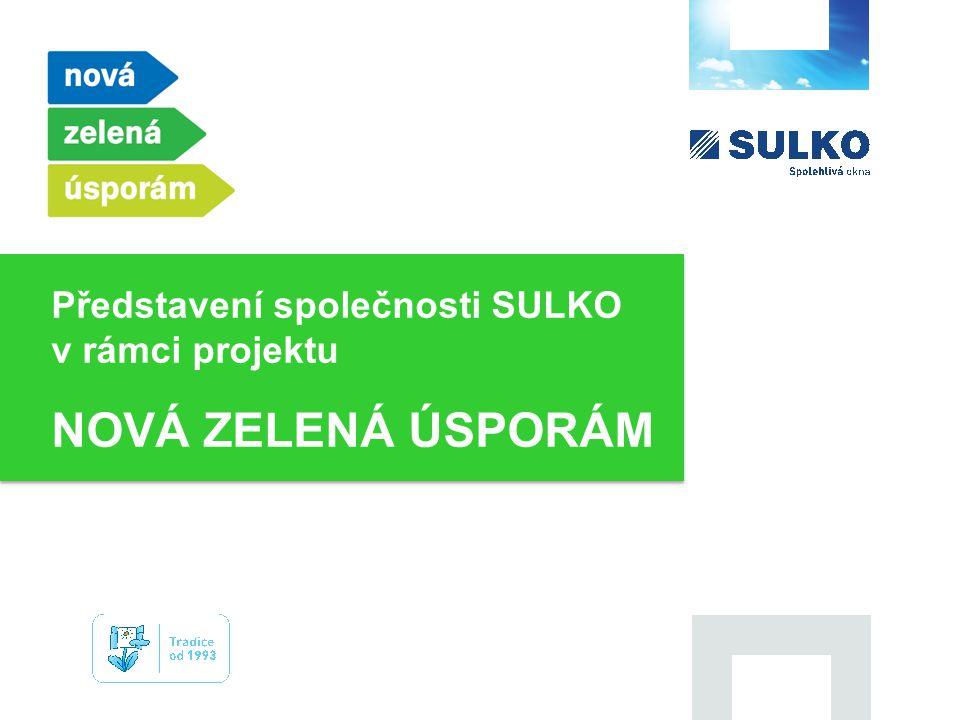 Představení společnosti SULKO v rámci projektu