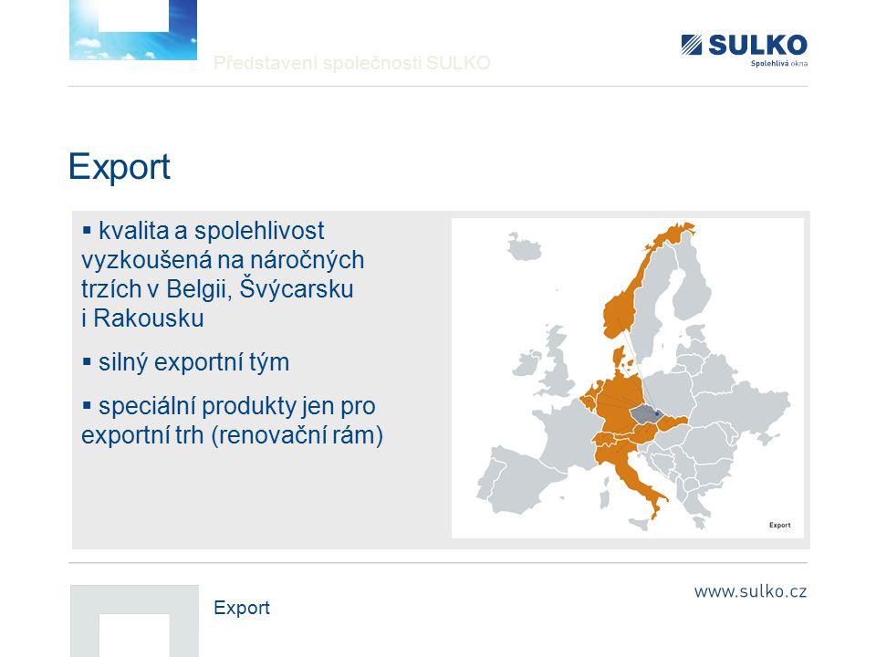 Představení společnosti SULKO