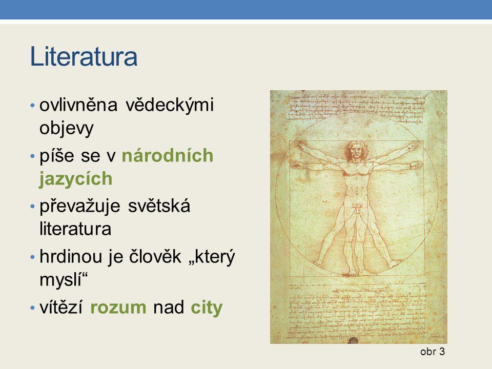 Literatura ovlivněna vědeckými objevy píše se v národních jazycích