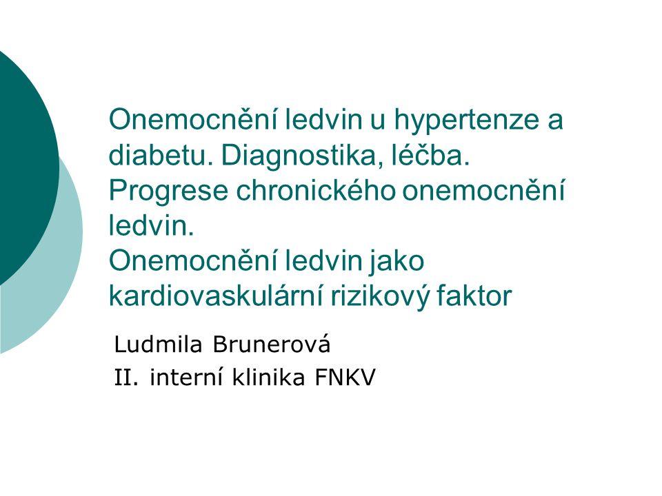 Ludmila Brunerová II. interní klinika FNKV