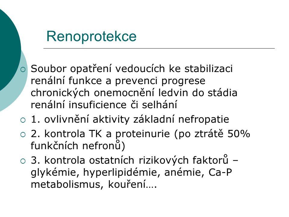 Renoprotekce