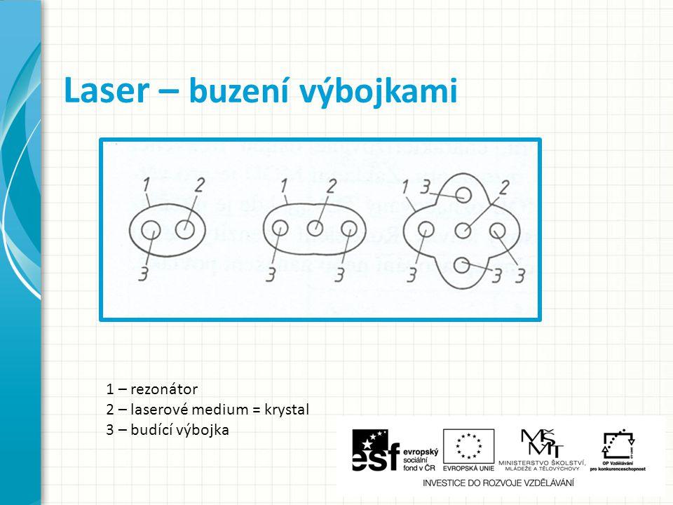Laser – buzení výbojkami