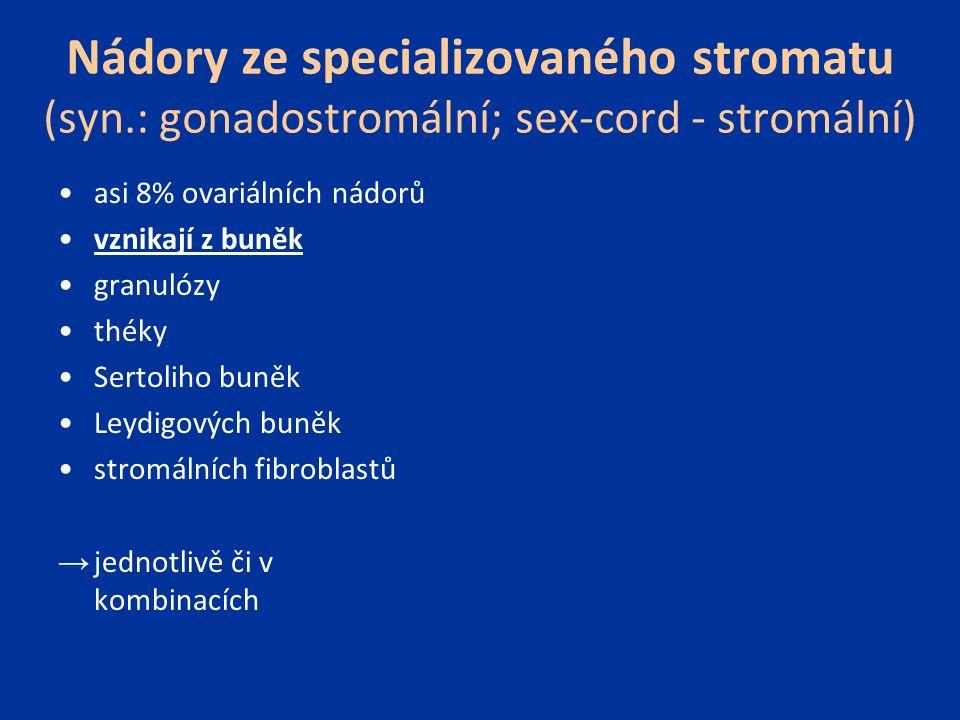 Nádory ze specializovaného stromatu (syn