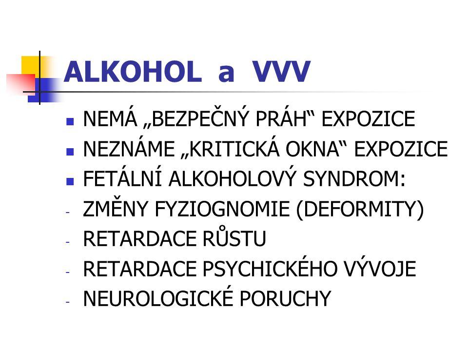 """ALKOHOL a VVV NEMÁ """"BEZPEČNÝ PRÁH EXPOZICE"""