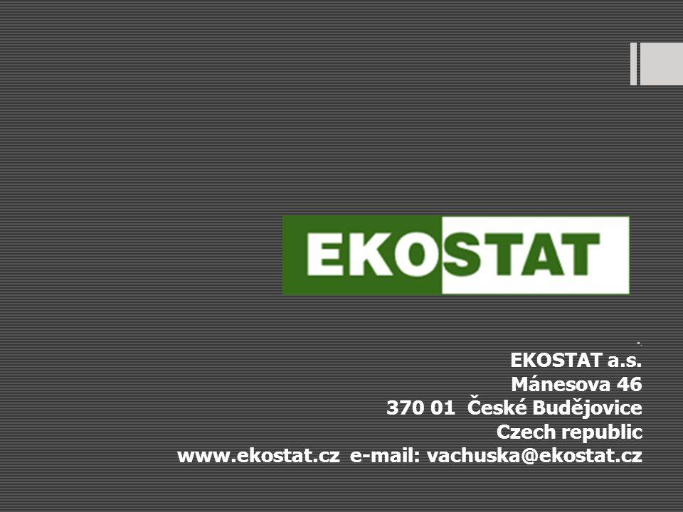www.ekostat.cz e-mail: vachuska@ekostat.cz