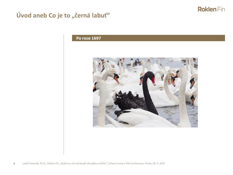 """Úvod aneb Co je to """"černá labuť"""