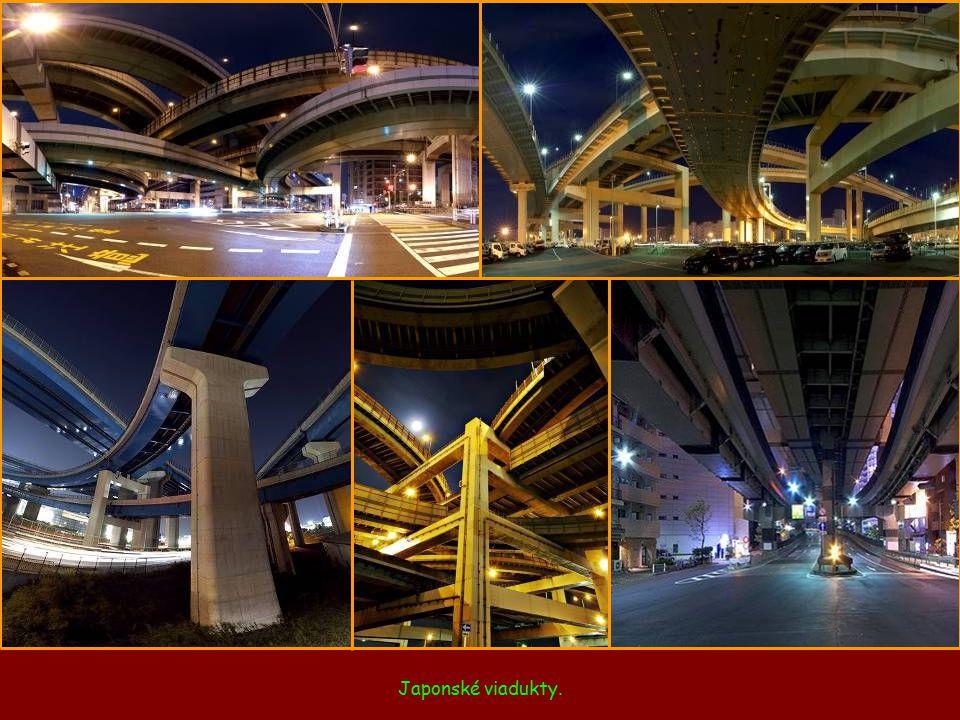 Japonské viadukty.