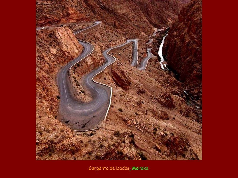 Garganta de Dades, Maroko.