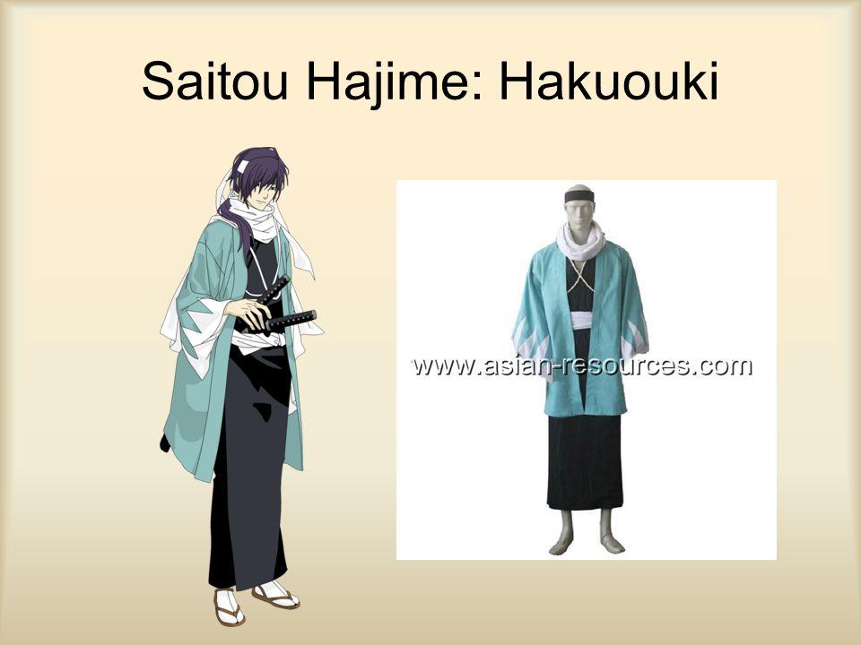 Saitou Hajime: Hakuouki