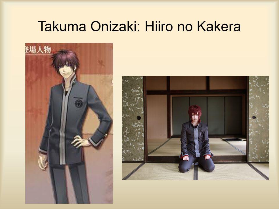 Takuma Onizaki: Hiiro no Kakera