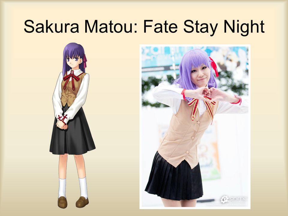Sakura Matou: Fate Stay Night