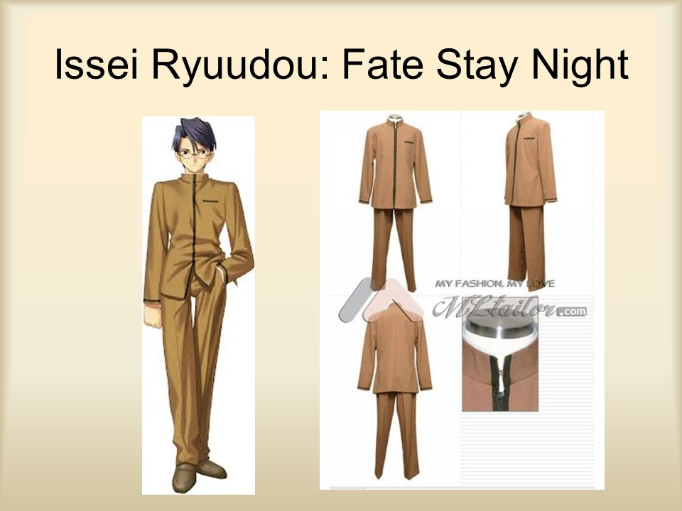 Issei Ryuudou: Fate Stay Night
