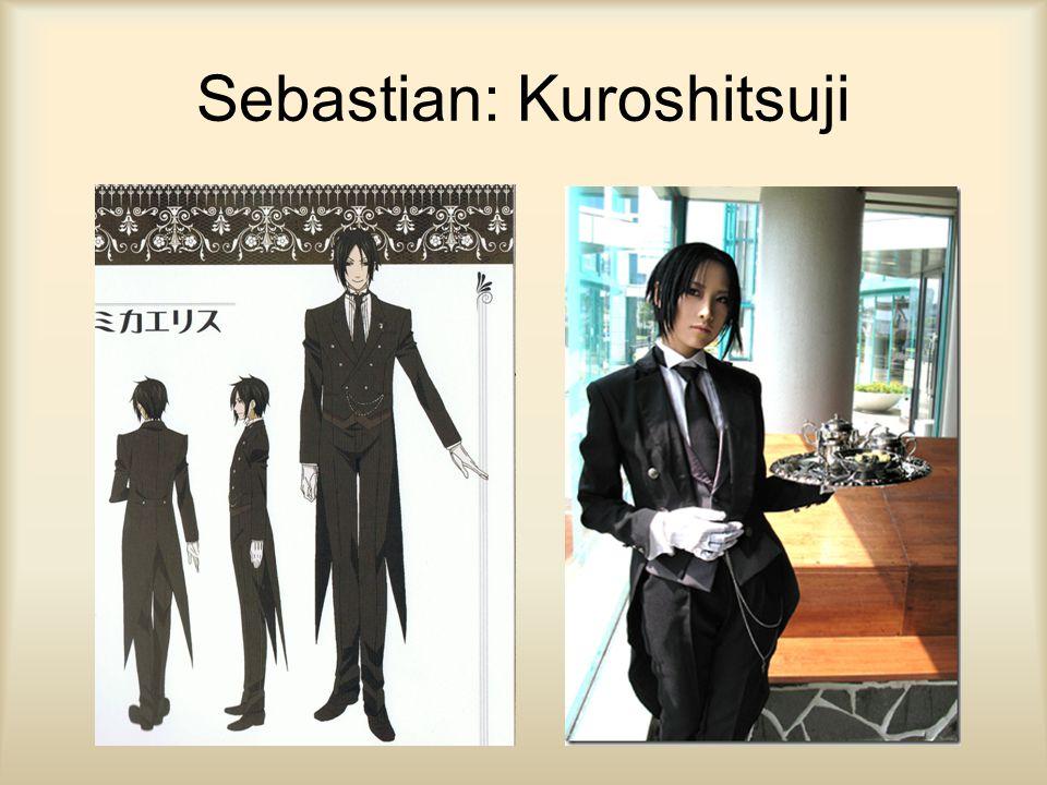 Sebastian: Kuroshitsuji
