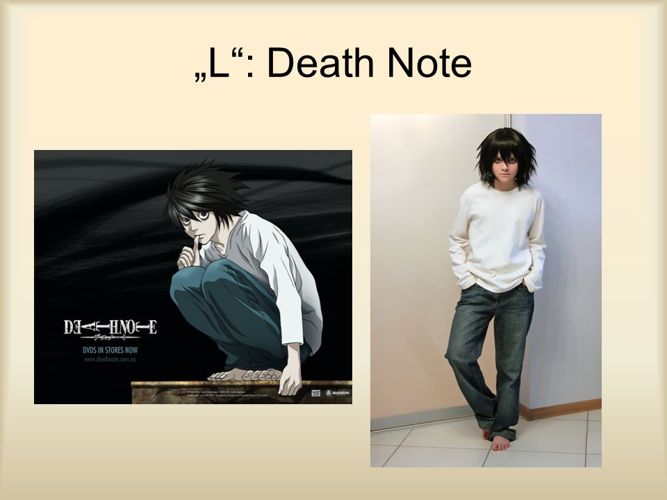 """L : Death Note"