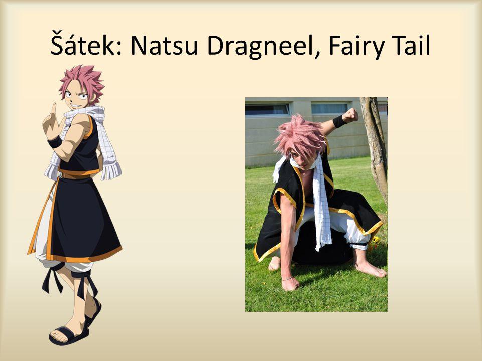 Šátek: Natsu Dragneel, Fairy Tail