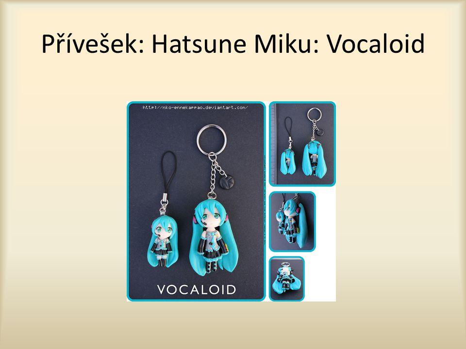 Přívešek: Hatsune Miku: Vocaloid