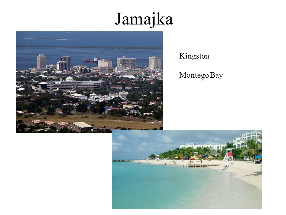 Jamajka Kingston Montego Bay