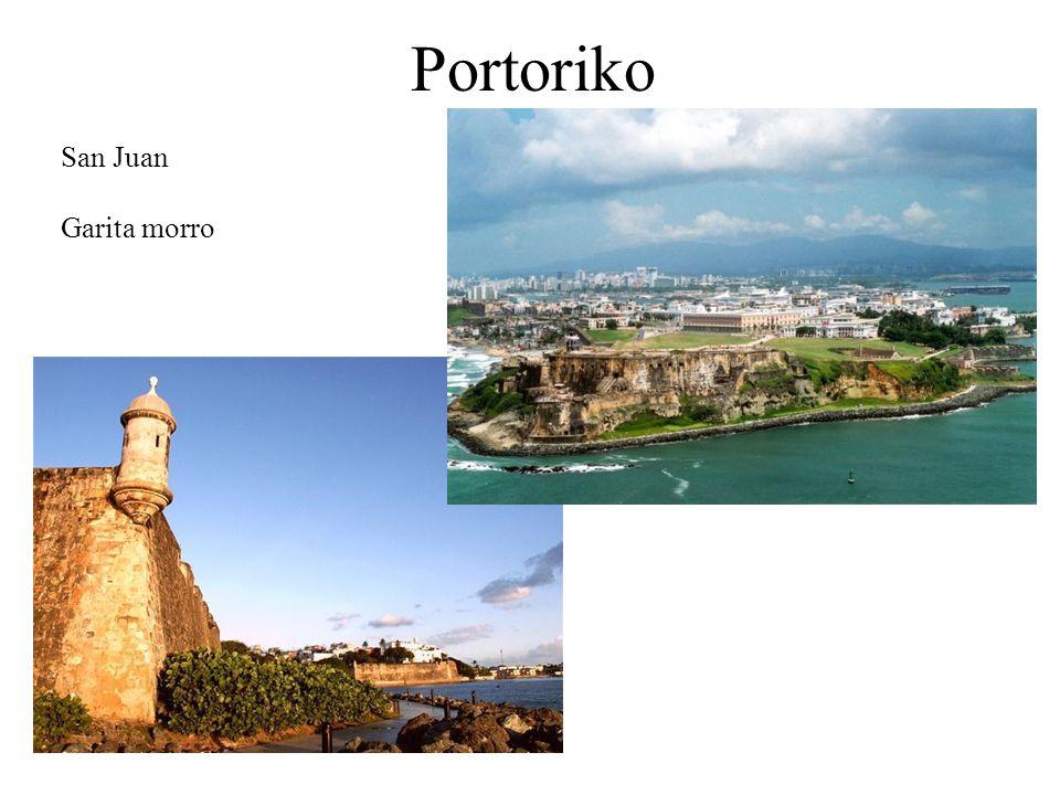 Portoriko San Juan Garita morro