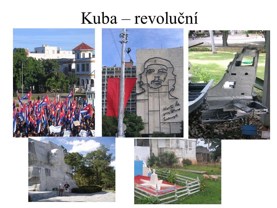Kuba – revoluční