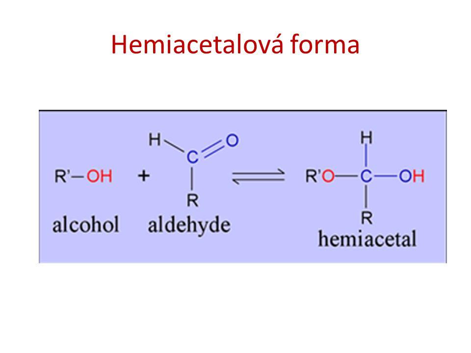 Hemiacetalová forma