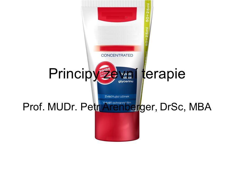 Principy zevní terapie