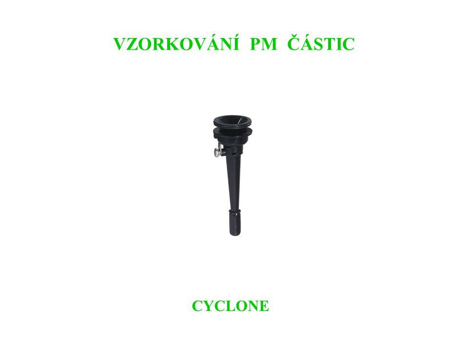 VZORKOVÁNÍ PM ČÁSTIC CYCLONE