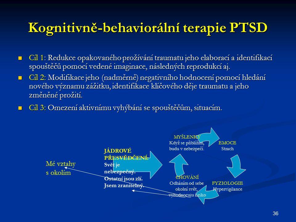 Kognitivně-behaviorální terapie PTSD