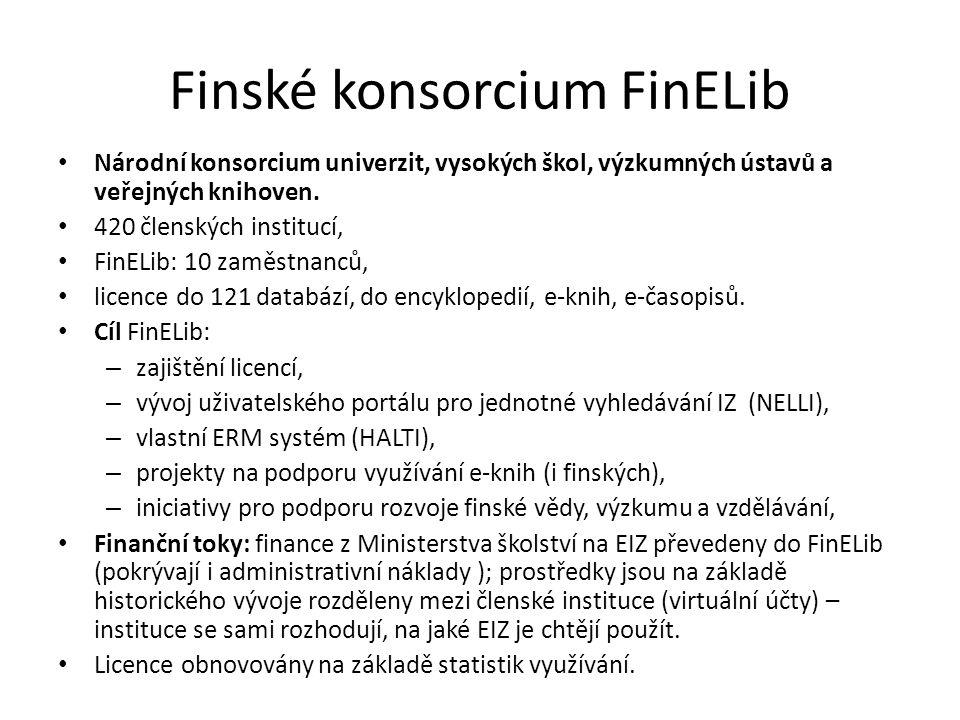 Finské konsorcium FinELib
