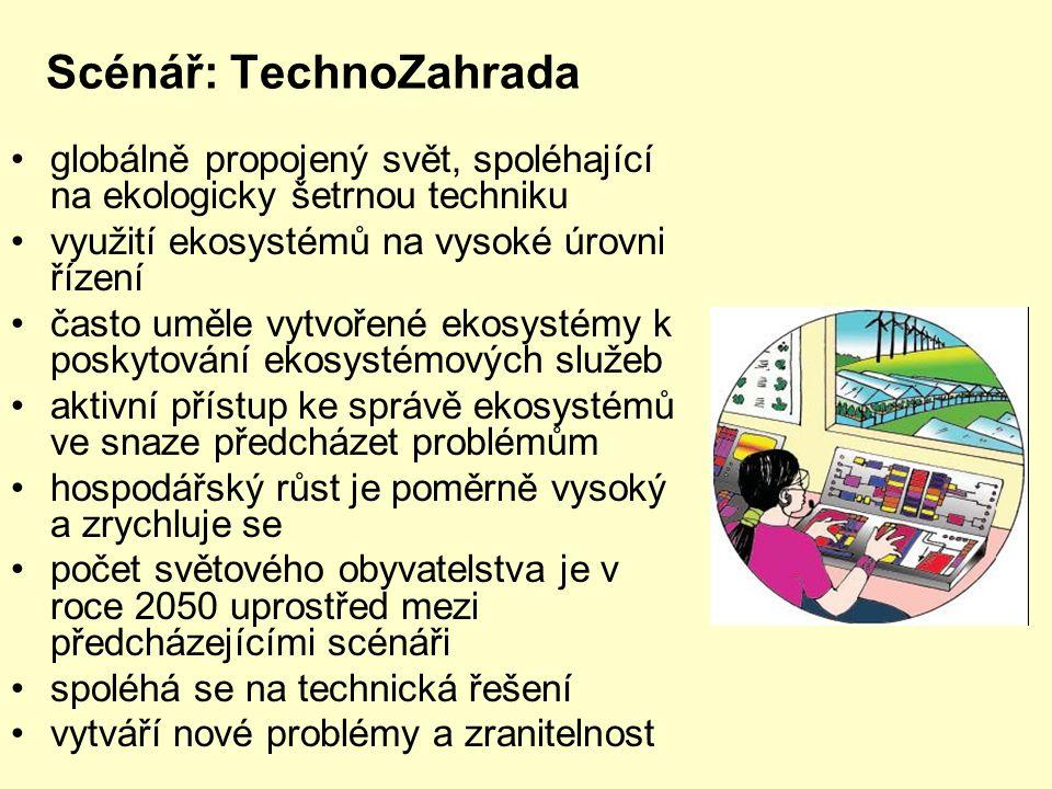 Scénář: TechnoZahrada