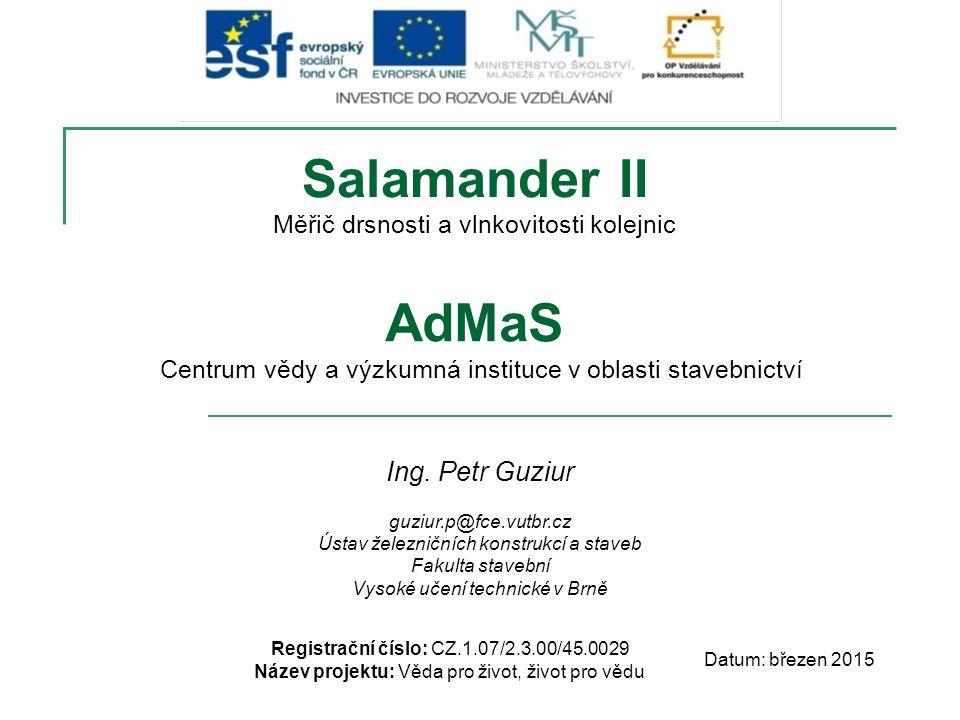 Salamander II AdMaS Ing. Petr Guziur