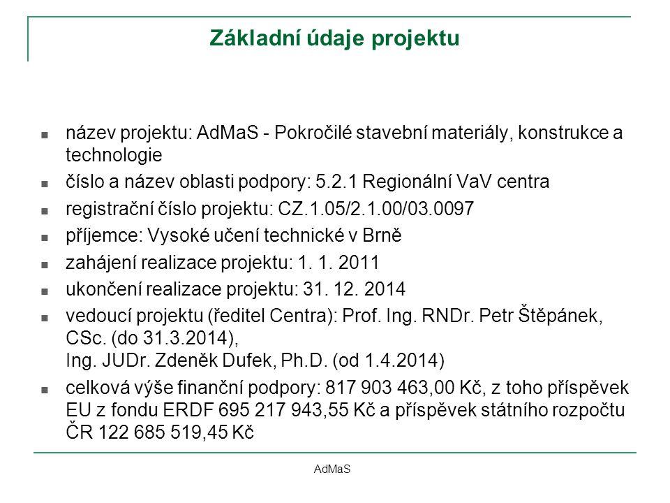 Základní údaje projektu