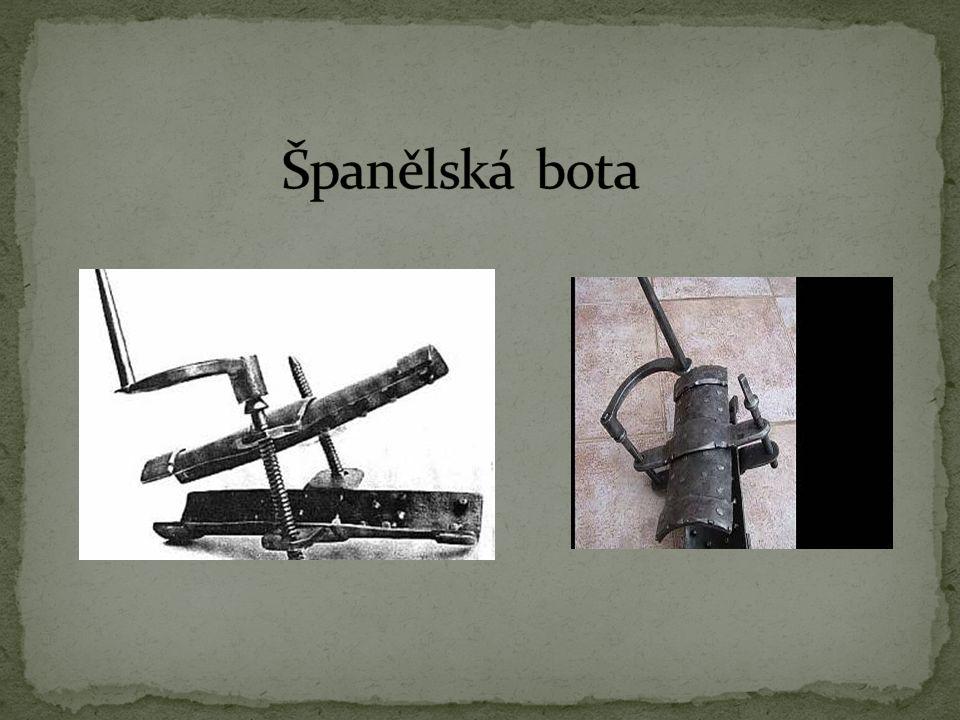 Španělská bota