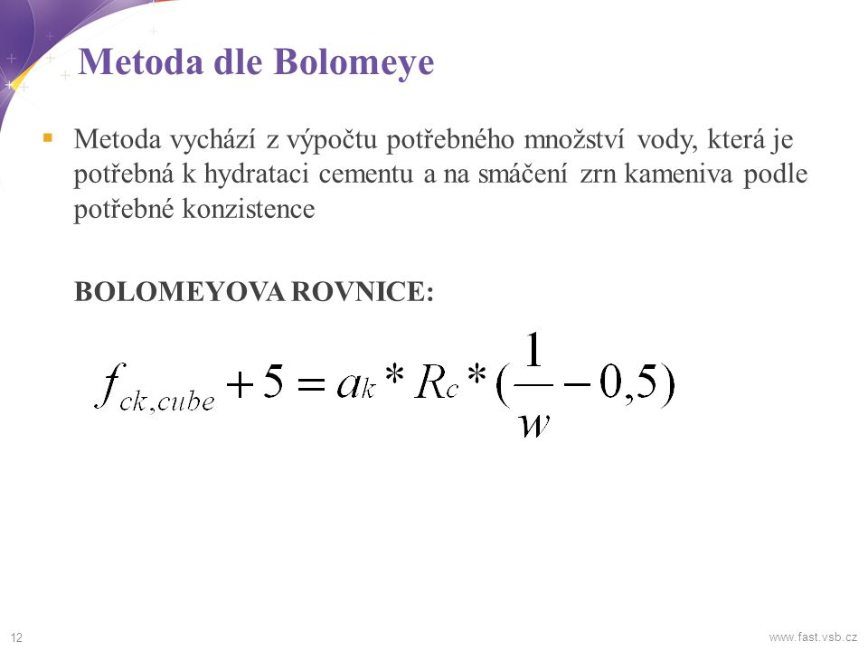 Metoda dle Bolomeye