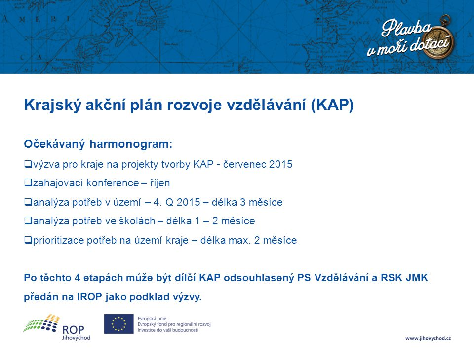 Krajský akční plán rozvoje vzdělávání (KAP)