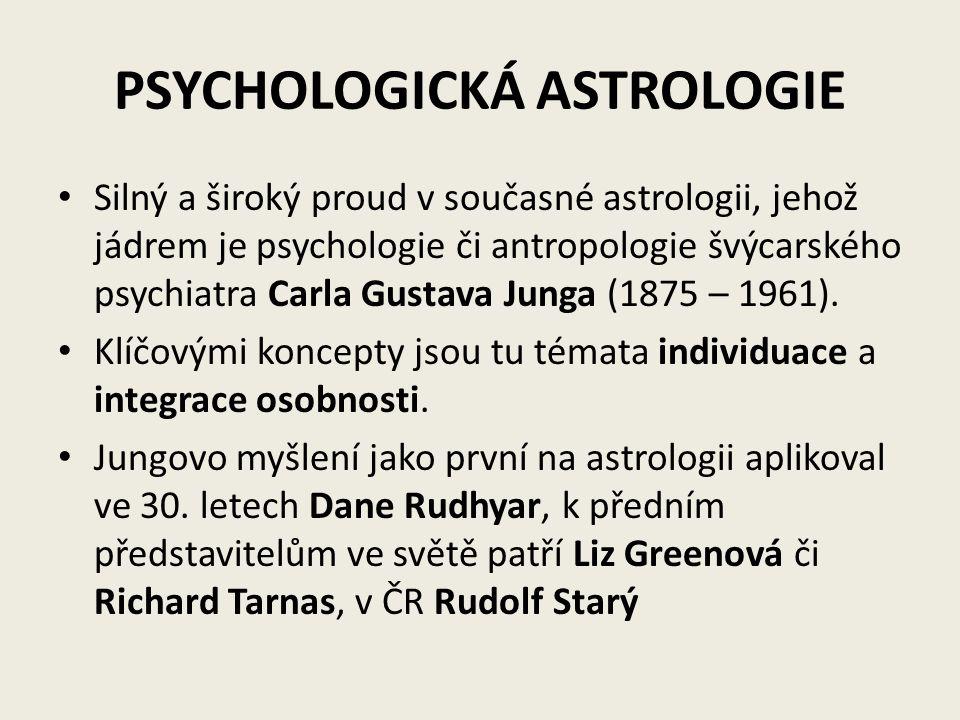 PSYCHOLOGICKÁ ASTROLOGIE