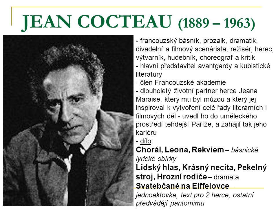 JEAN COCTEAU (1889 – 1963)